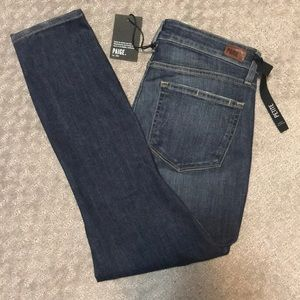Paige Verdugo Crop Mavis Destructed Jeans Size 30